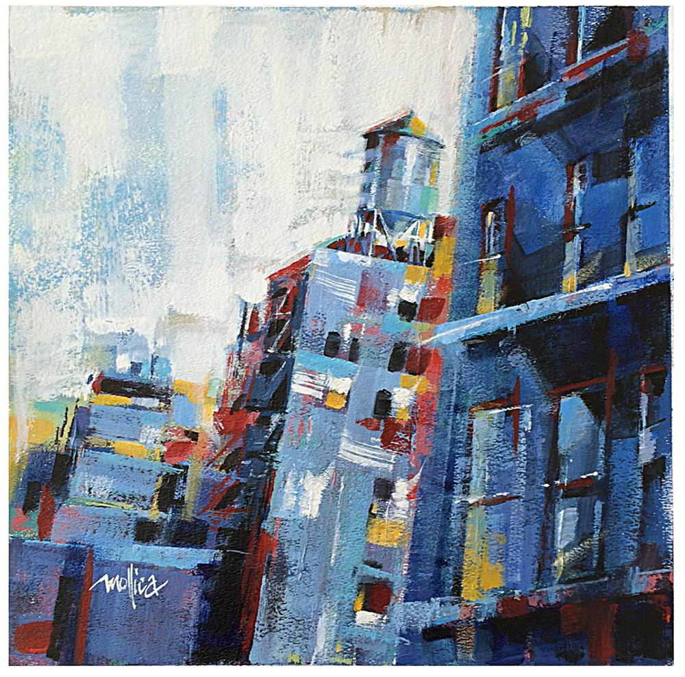 """Chelsea Watertower"" original fine art by Patti Mollica"