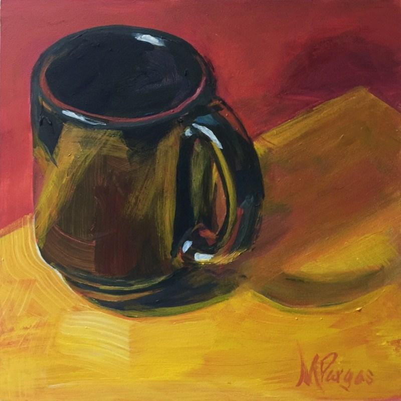 """Back To Basics"" original fine art by Mary Pargas"