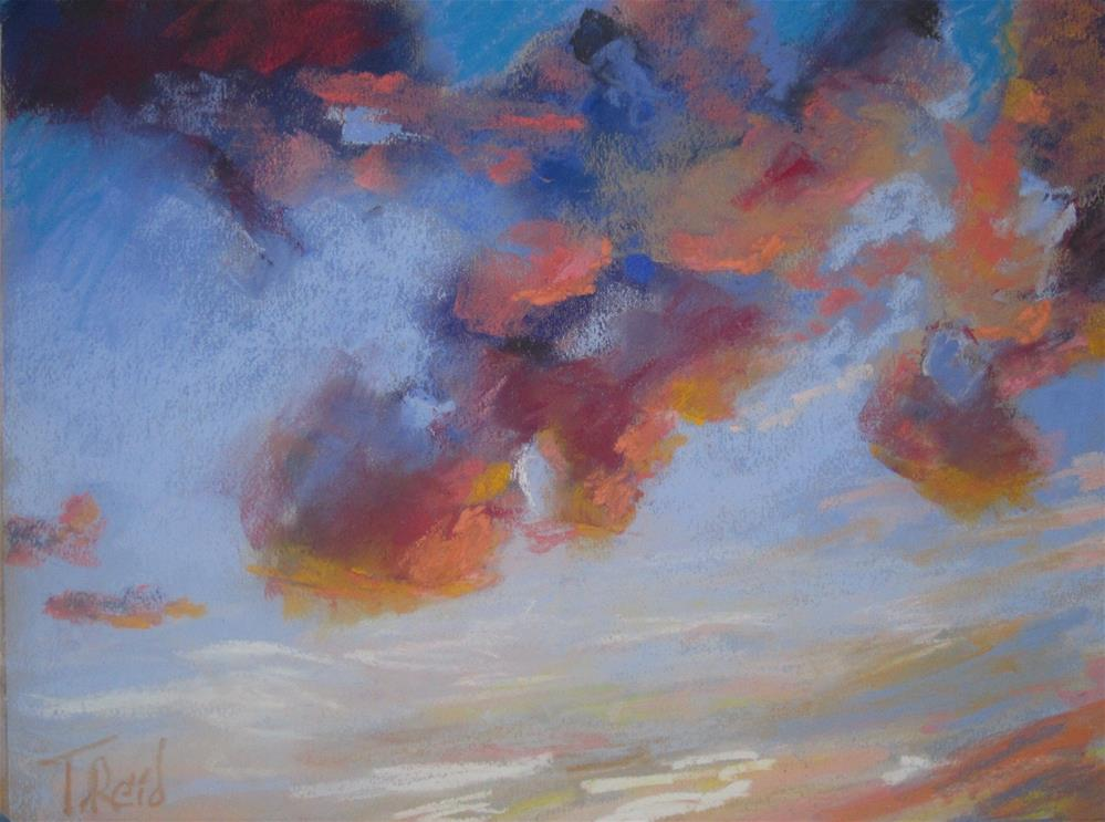 """Clouds #6"" original fine art by Toby Reid"