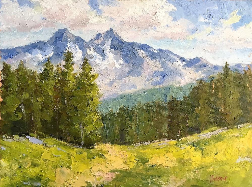 """""""Twin Peaks"""" original fine art by Mark Bidstrup"""