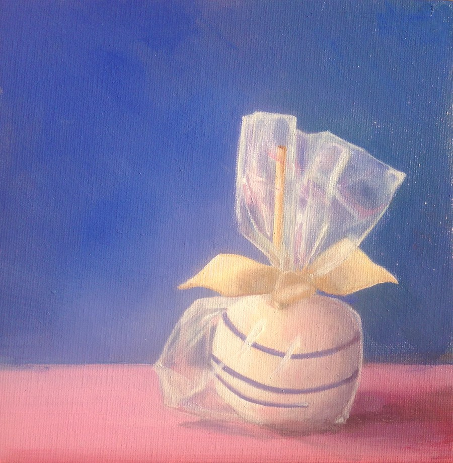 """The Wedding Apple"" original fine art by Karen Stitt"
