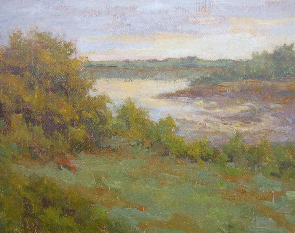 """""""Late Afternoon in Lubec"""" original fine art by Eden Compton"""