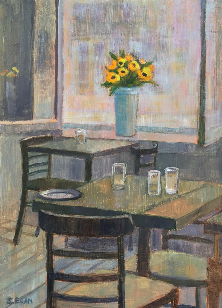 """""""Audrey Claire"""" original fine art by Sharon Egan"""