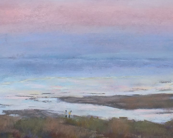 """Crane Beach 1"" original fine art by Linee Baird"