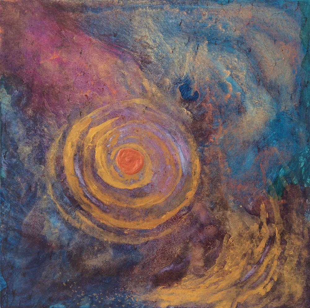 """Gyre"" original fine art by Susan Medyn"