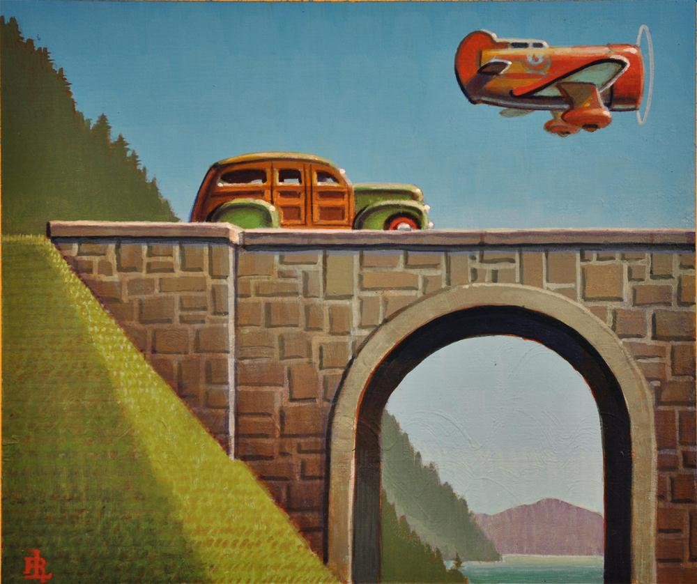 """Flyer"" original fine art by Robert LaDuke"