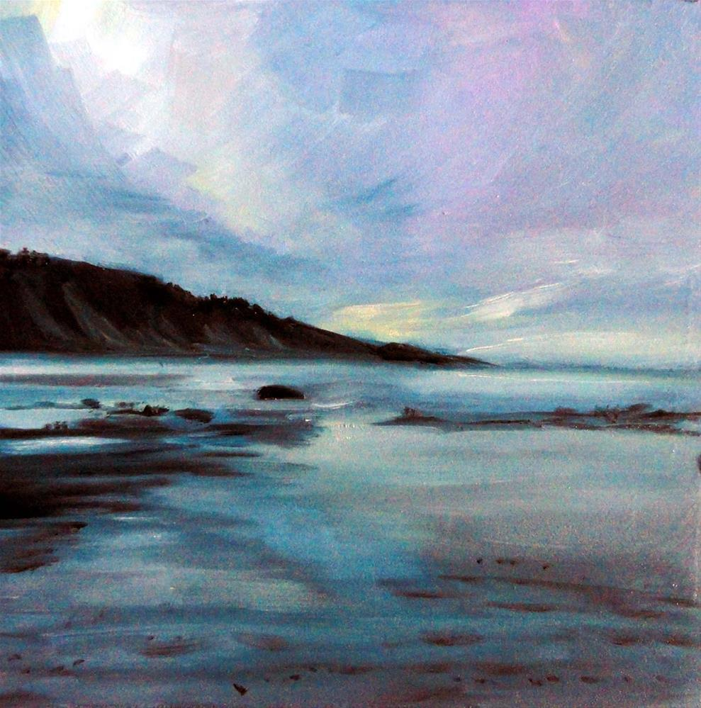 """Low Tide Light"" original fine art by Cietha Wilson"