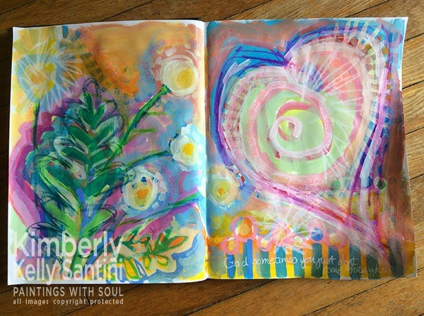 """Keeping Creative"" original fine art by Kimberly Santini"