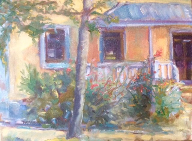 """Roberto's Retreat"" original fine art by Thea Lombaard"