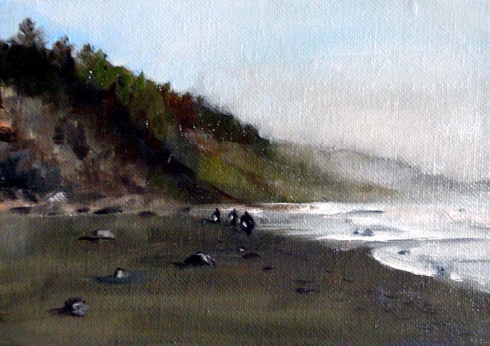 """Returning From Deadmans"" original fine art by Cietha Wilson"