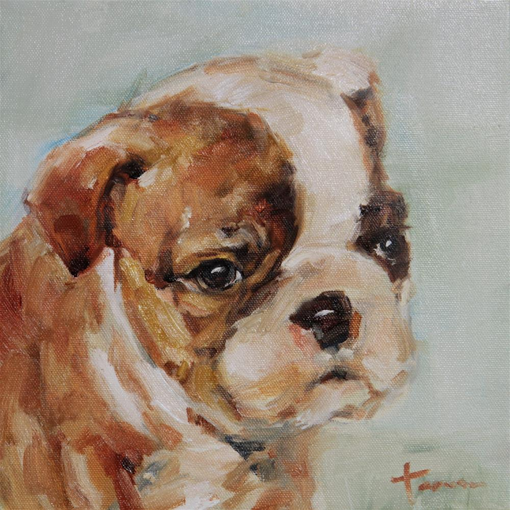 """Puppy02"" original fine art by Teresa Yoo"