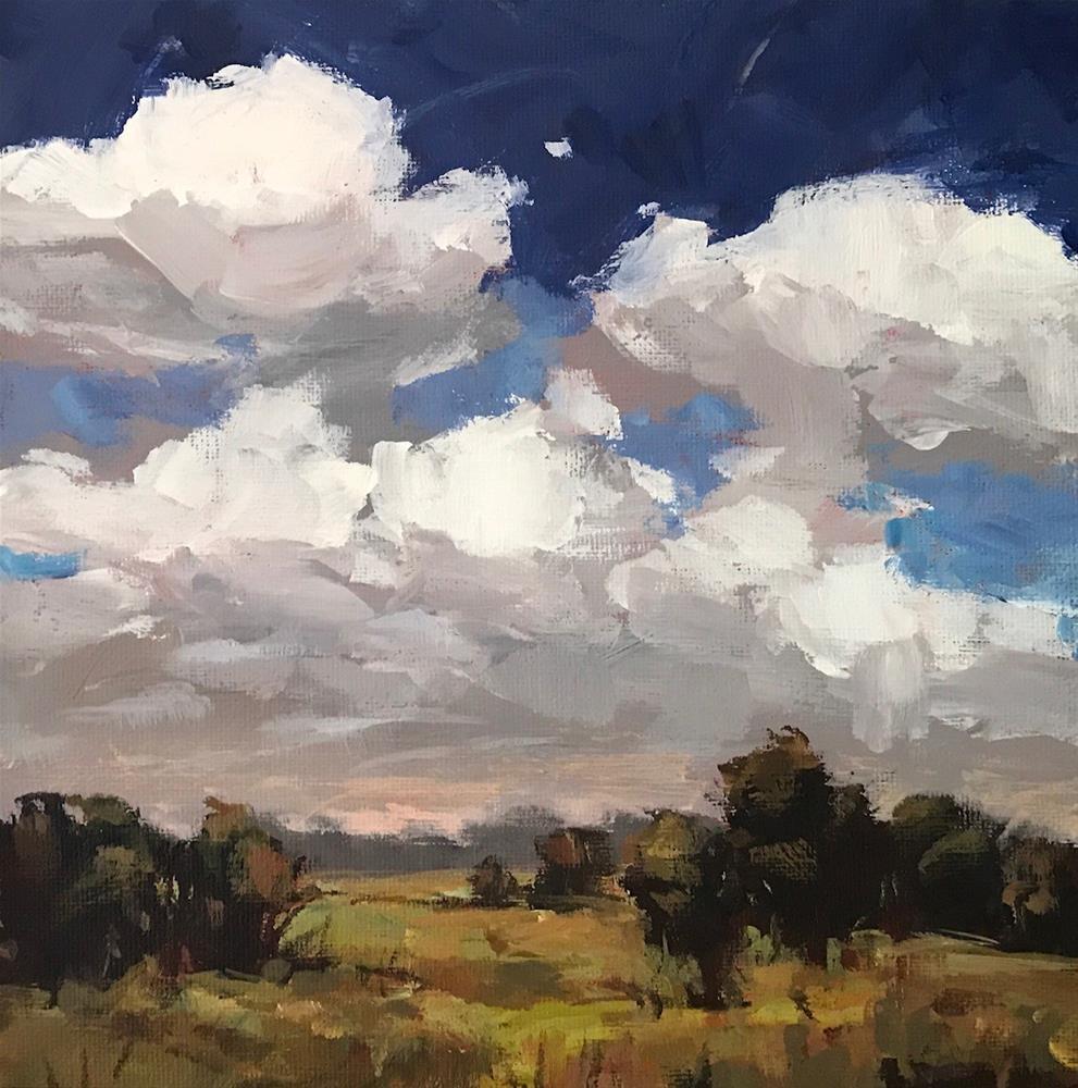 """Waking View"" original fine art by Shannon Bauer"