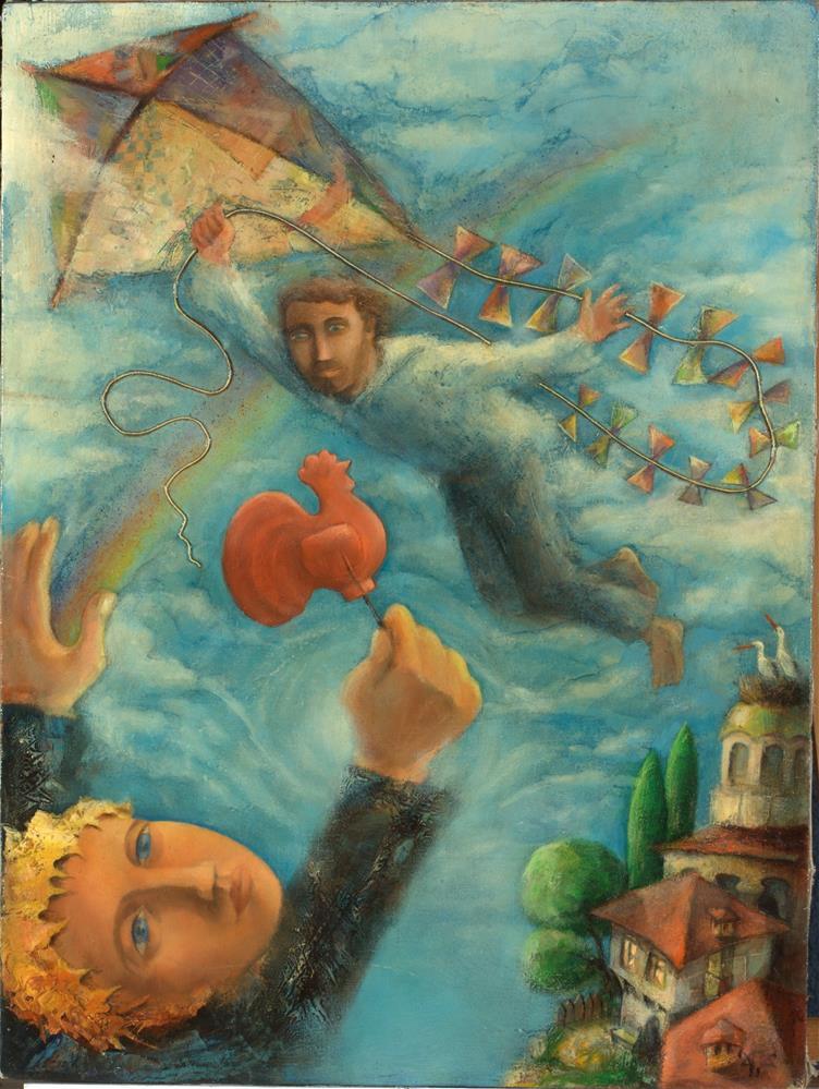 """Child's Memory"" original fine art by Mitko Dimitroff"