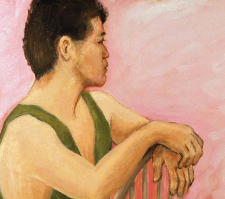 """Judochef"" original fine art by Marie Lynch"