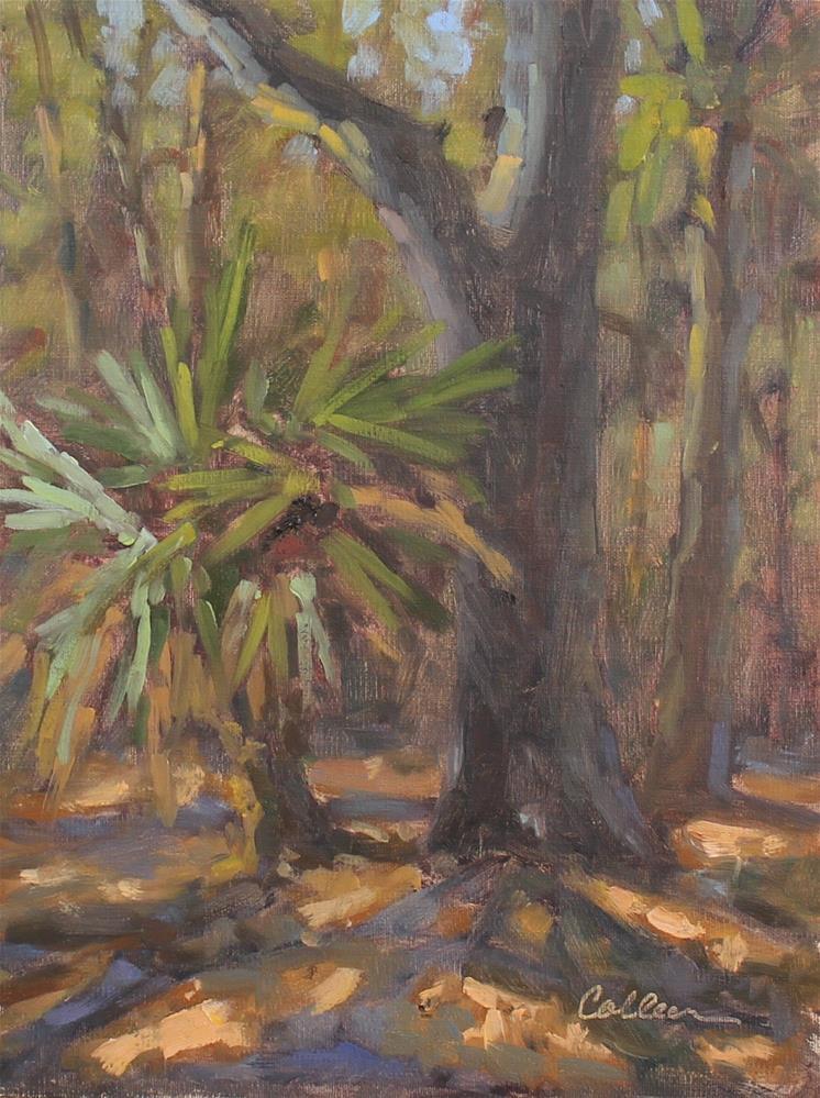 """Little Palmetto"" original fine art by Colleen Parker"