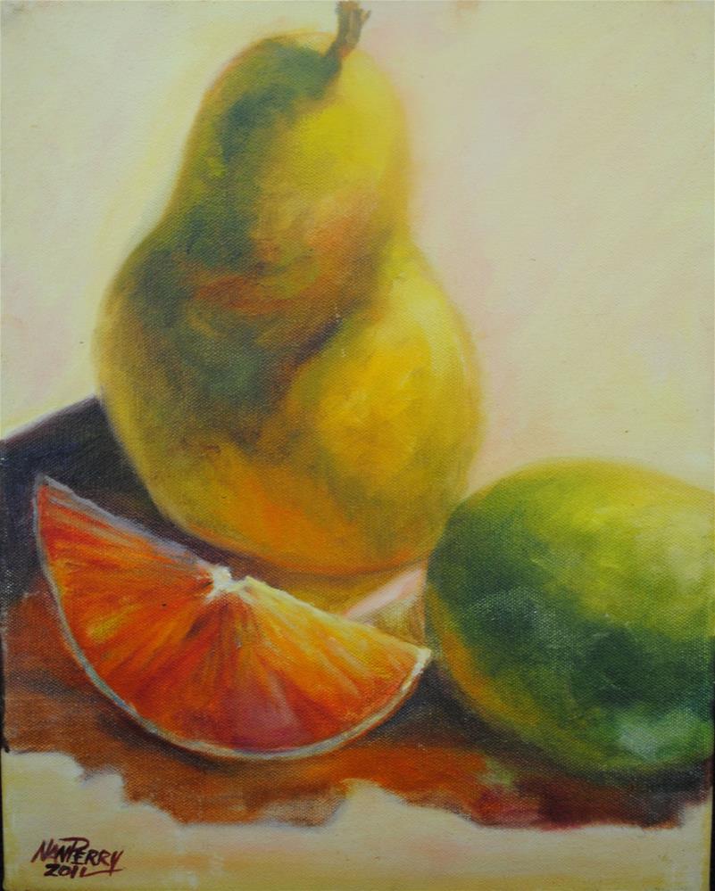 """Citrus "" original fine art by Nan Perry"