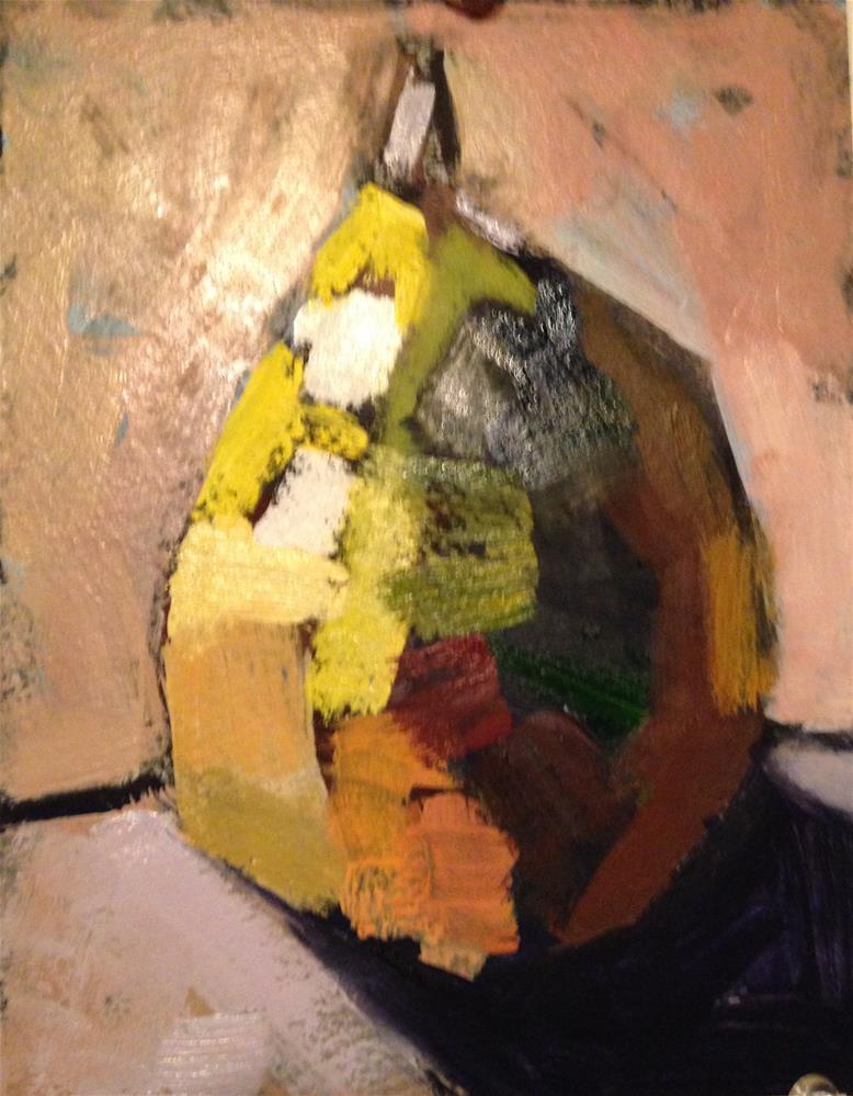 """""""Pear Sculpture"""" original fine art by Pamela Hoffmeister"""