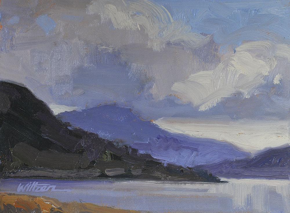 """Gibsons Landing"" original fine art by Liz Wiltzen"