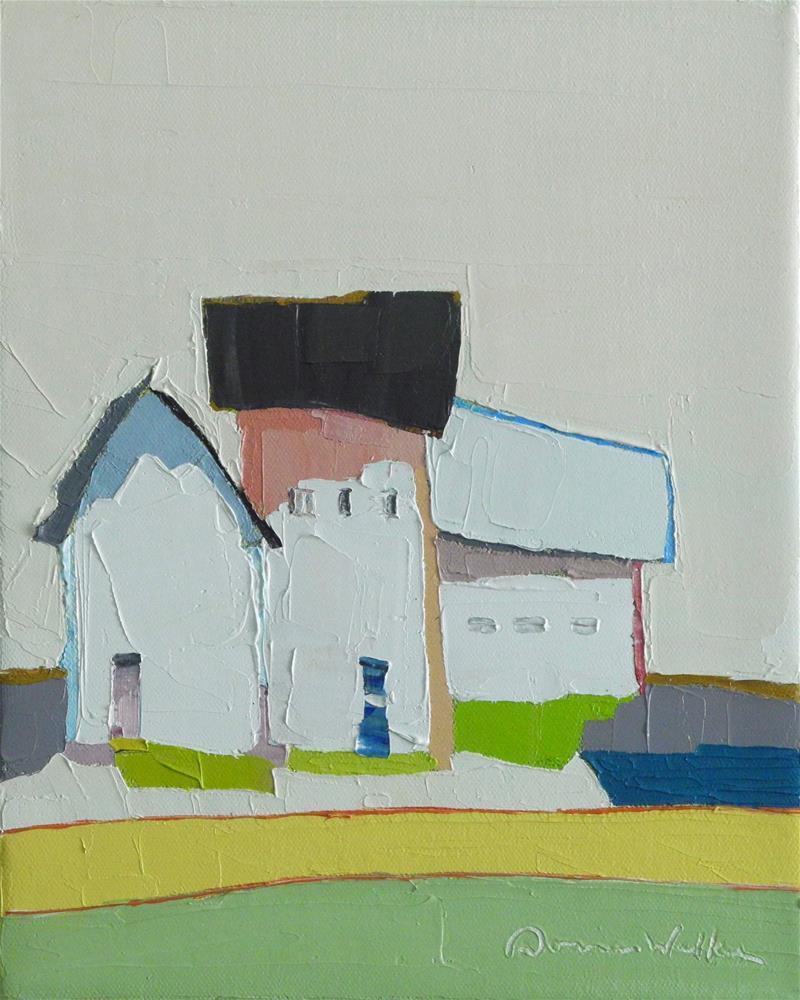"""Along the Lane"" original fine art by Donna Walker"