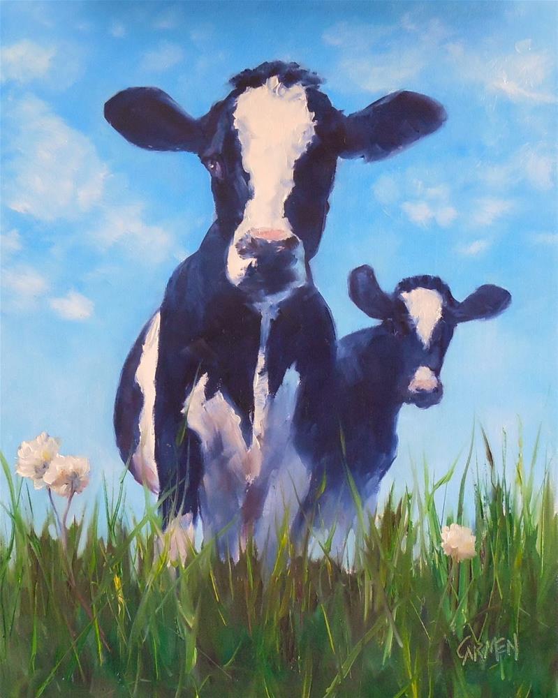 """Eat More Chikin, 8x10 Oil on Canvas Panel"" original fine art by Carmen Beecher"