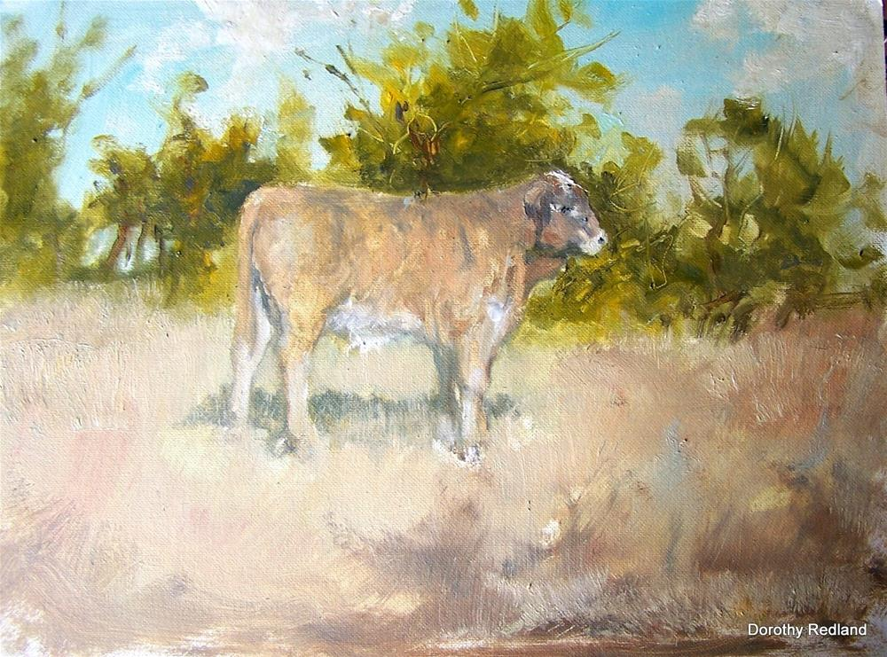 """""""One dandy fella"""" original fine art by Dorothy Redland"""