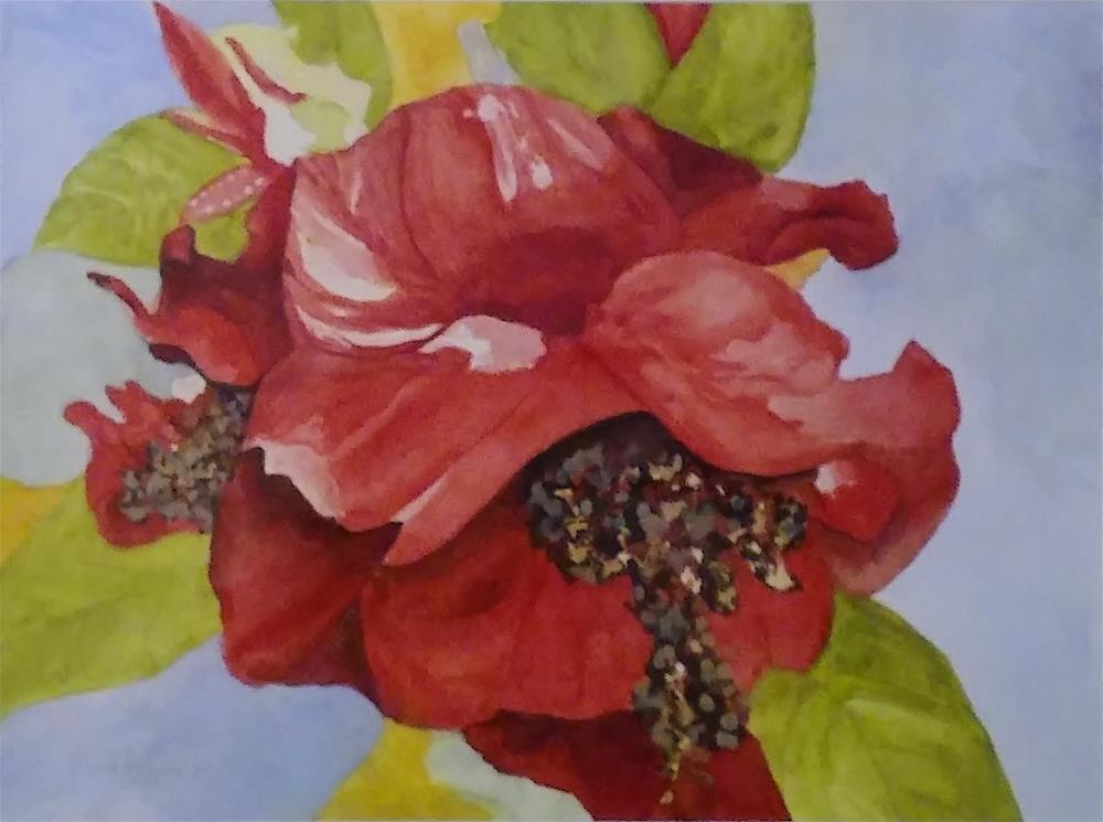 """Flower Upclose"" original fine art by Cathy Dykstra"