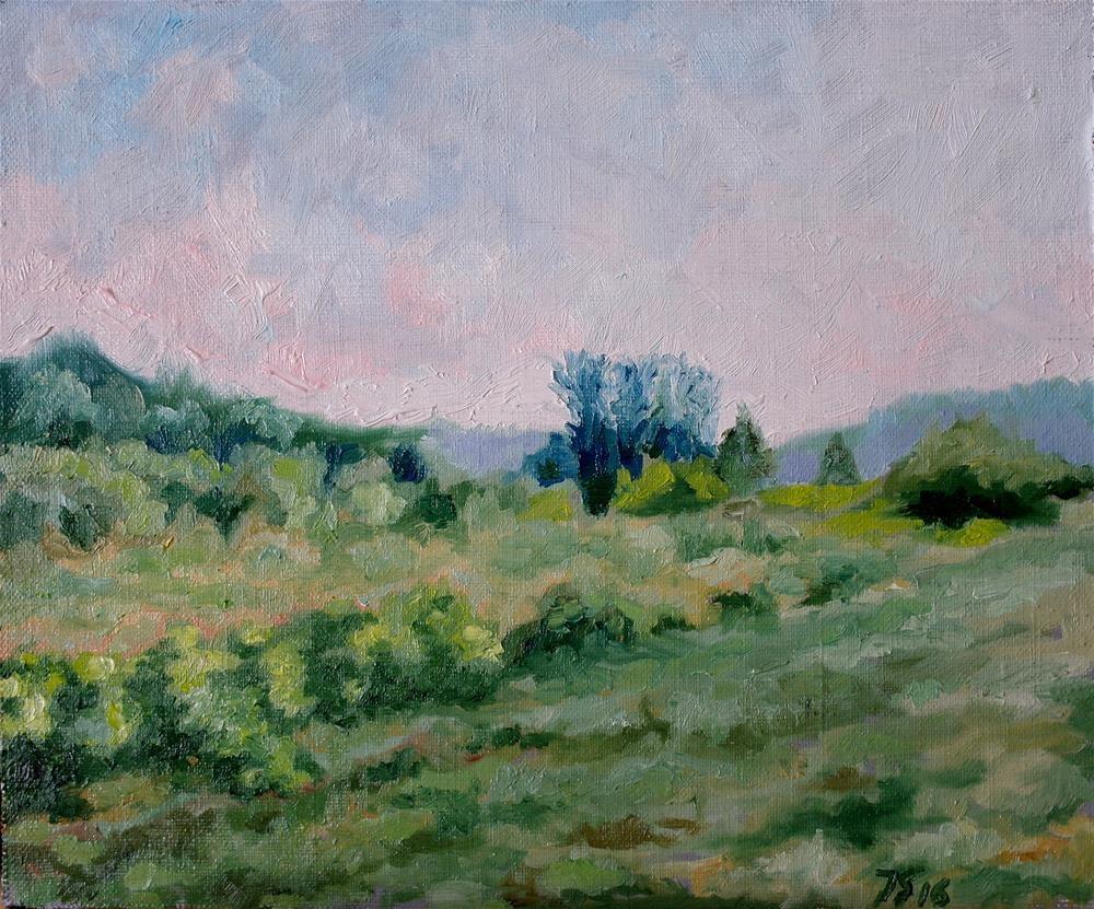 """""""early evening"""" original fine art by Yuriy Semyonov"""