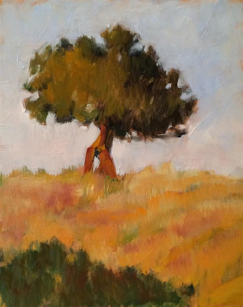"""Holy Tree"" original fine art by Deborah Newman"
