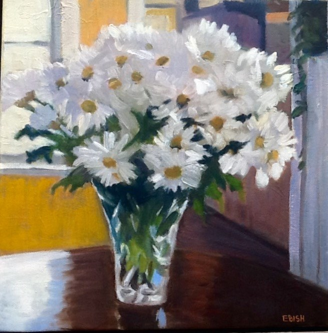 """Of All The Daisies"" original fine art by Elizabeth Bish"