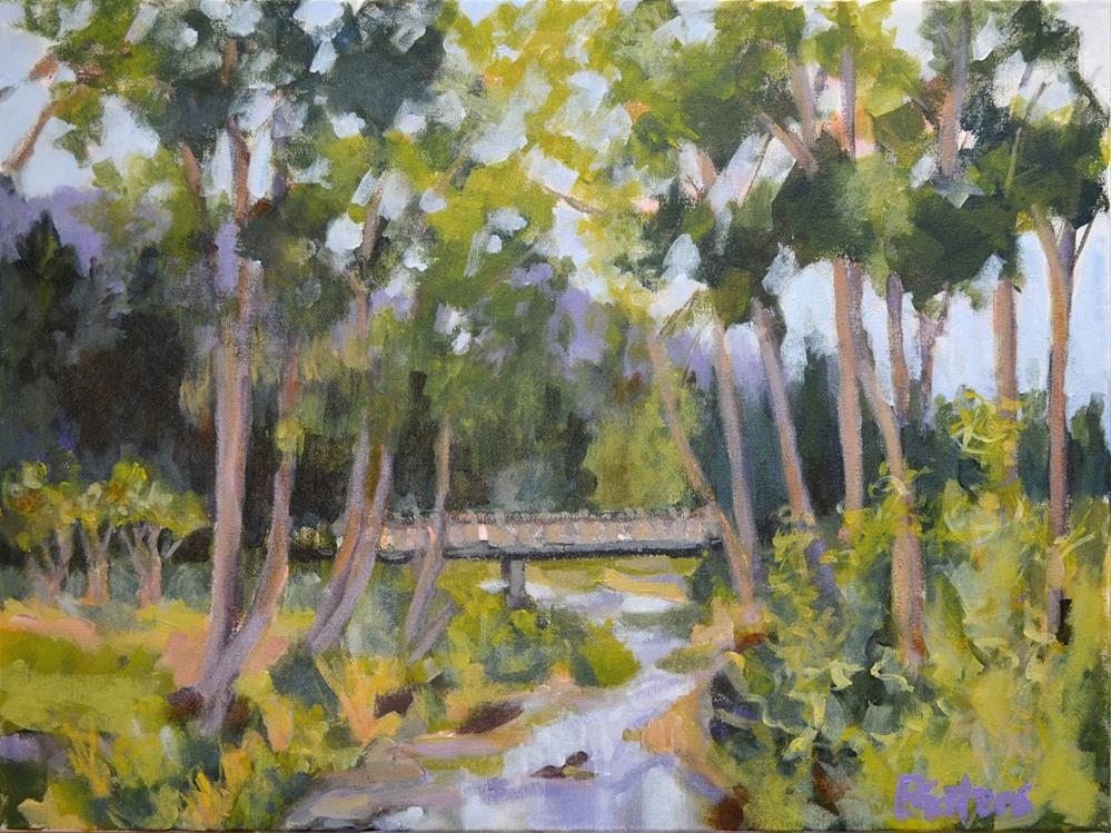 """Howard's Creek"" original fine art by Pamela Gatens"
