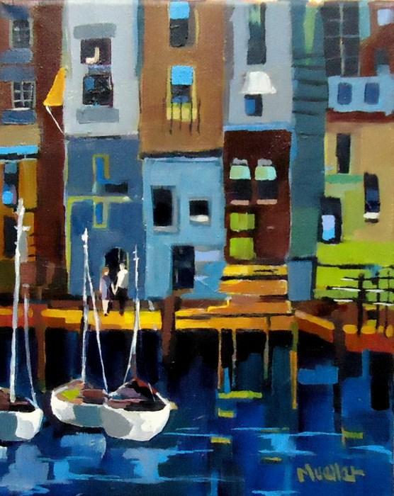"""Sea of Love"" original fine art by Laurie Mueller"