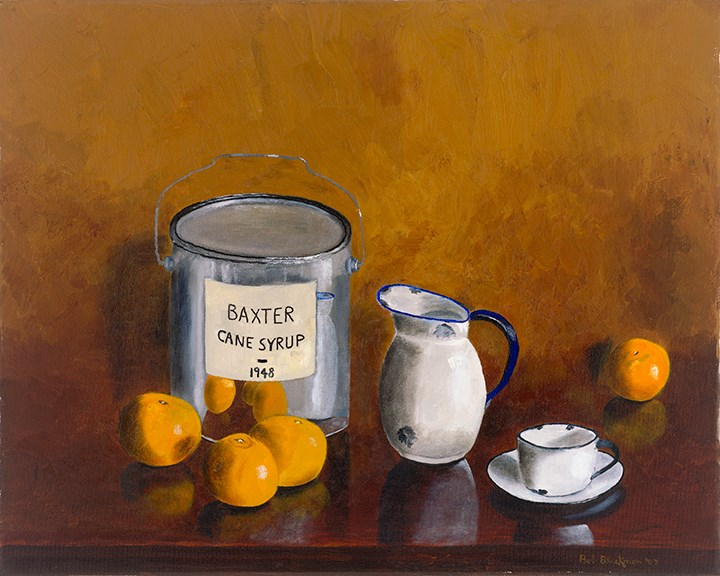 """Baxter Cane"" original fine art by Bob Blackmon"