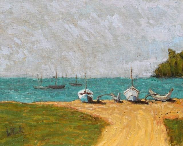"""Sri Lanka"" original fine art by William Cook"