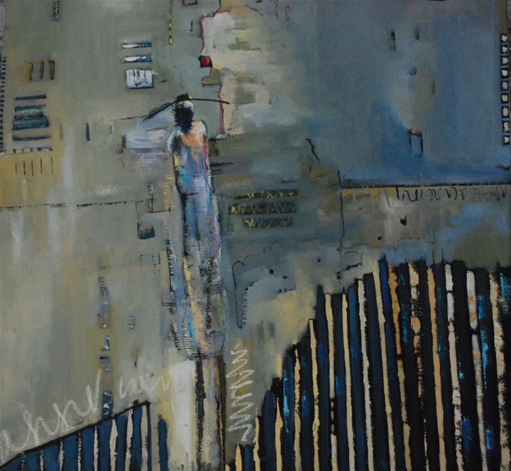 """""""New Chapter"""" original fine art by Deborah Harold"""