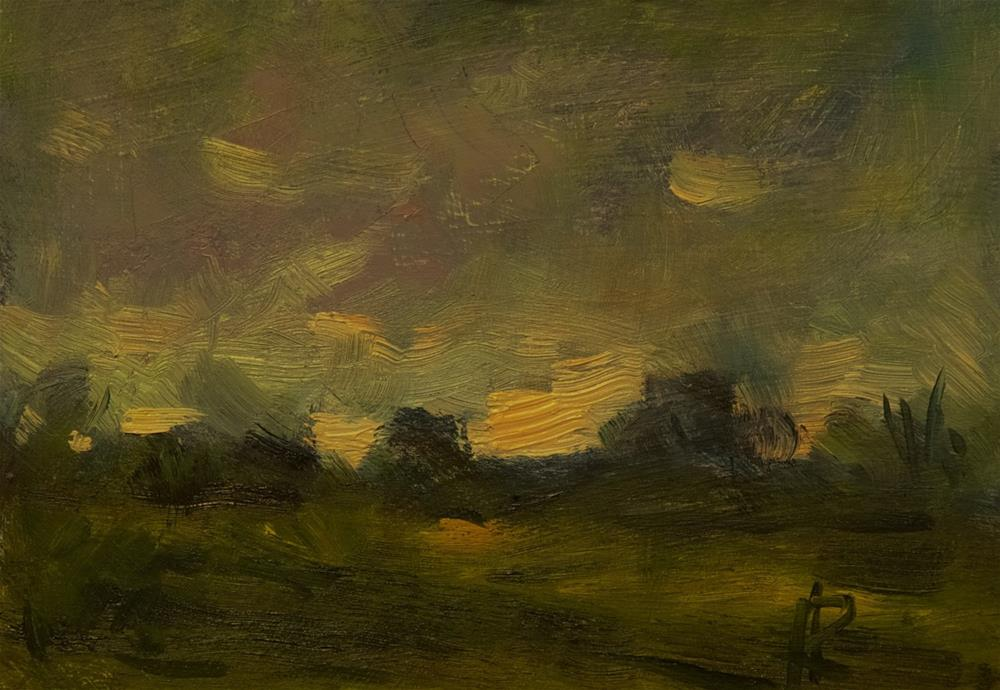 """Dark Sky"" original fine art by Andre Pallat"