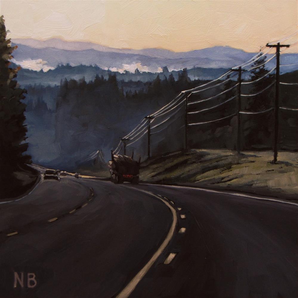 """""""Dalena Hill"""" original fine art by Nora Bergman"""