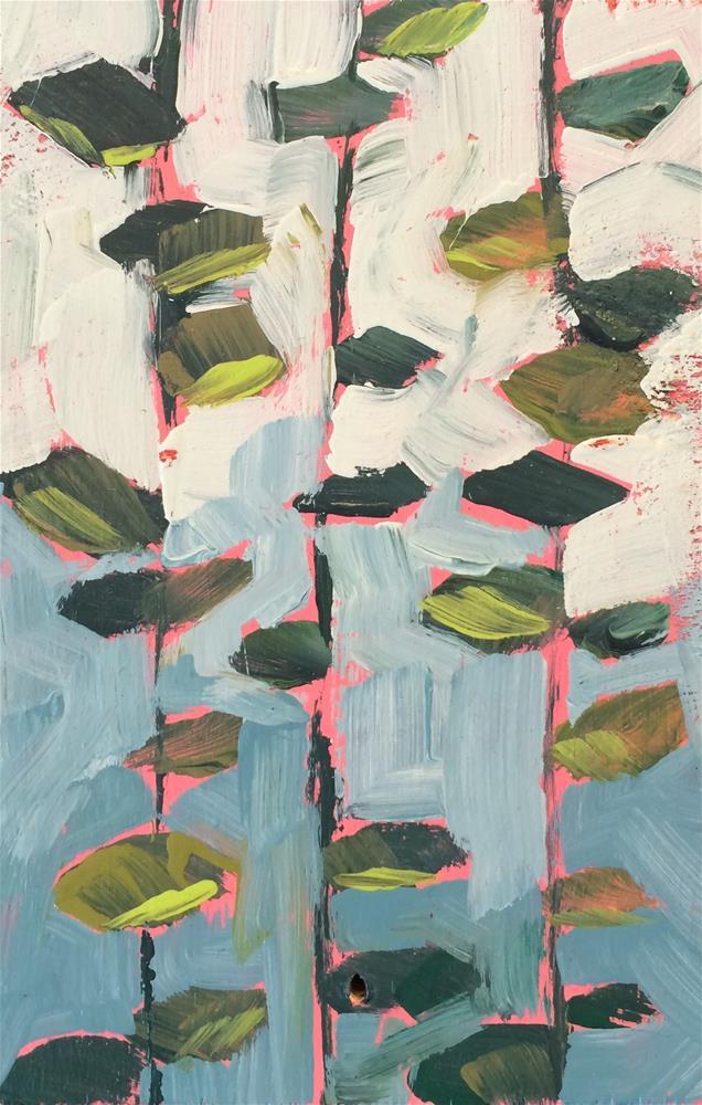 """Vine Patterns"" original fine art by Teddi Parker"