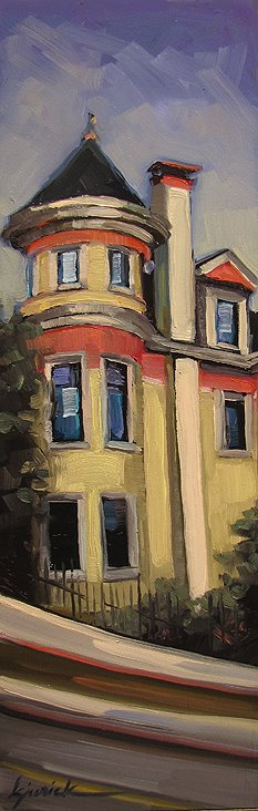 """Pacific Heights"" original fine art by Karin Jurick"