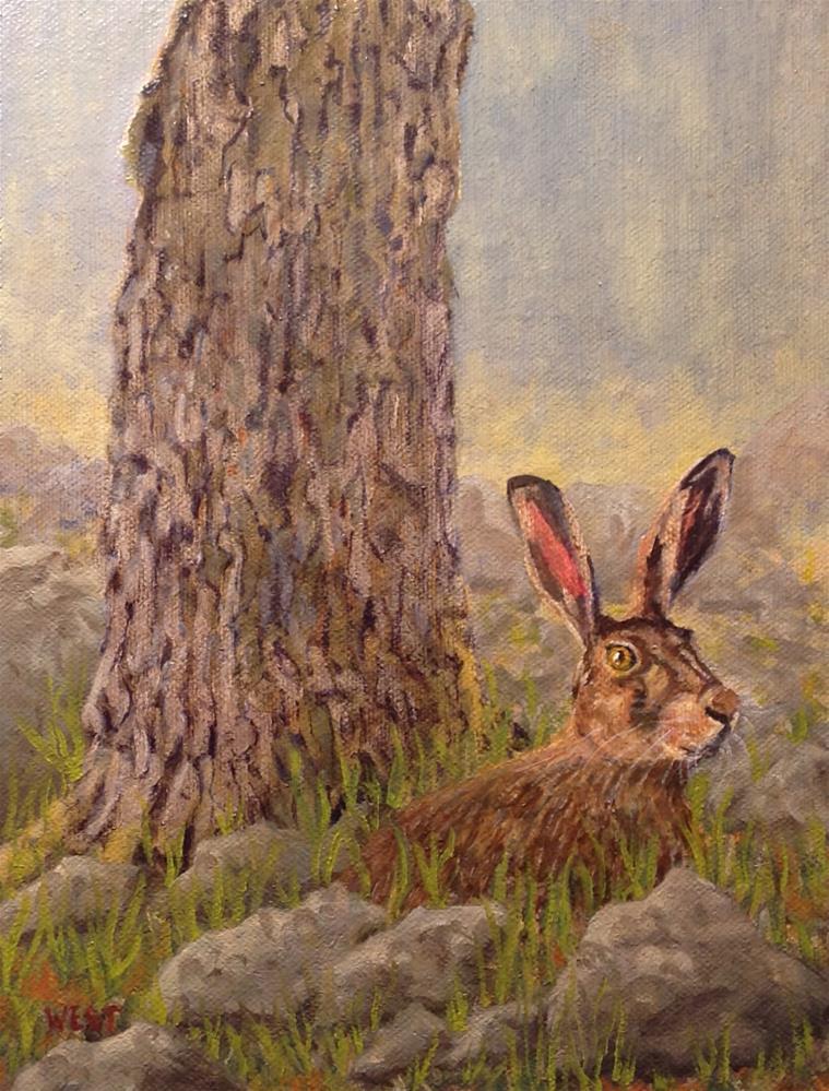 """""""High Alert!"""" original fine art by James West"""