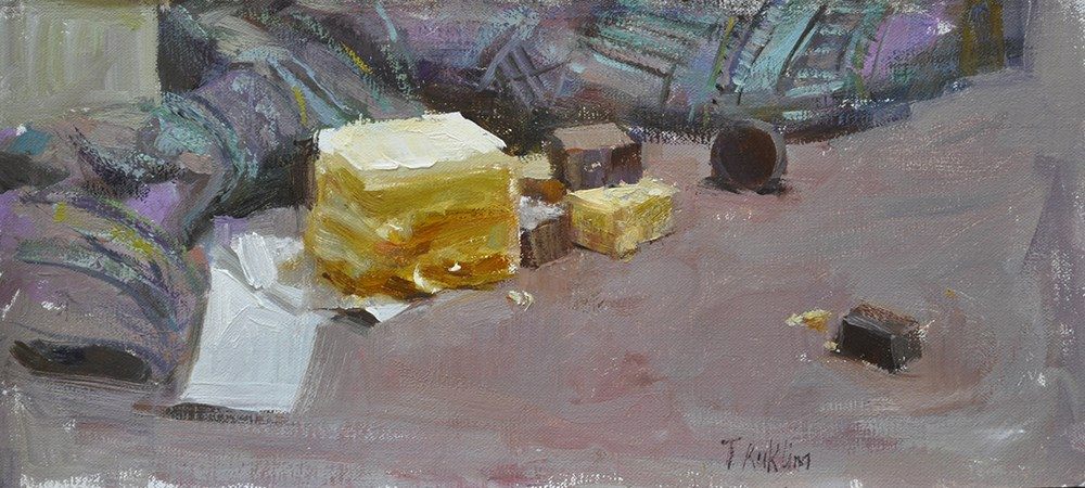 """sweets"" original fine art by Taisia Kuklina"