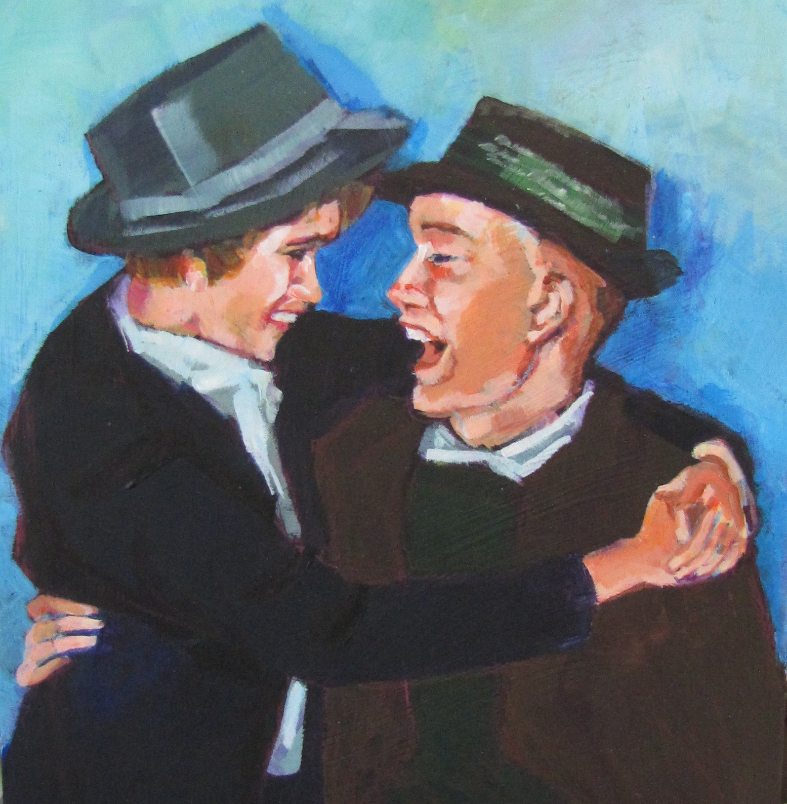 """50th Anniversary"" original fine art by Christine Holzschuh"