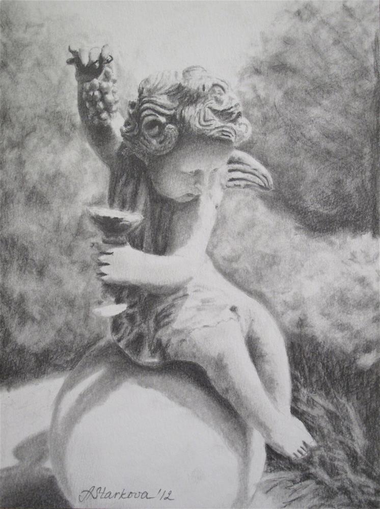 """Rascal"" original fine art by Anna Starkova"