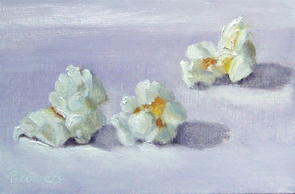 """Popped"" original fine art by Patricia J. Powers"