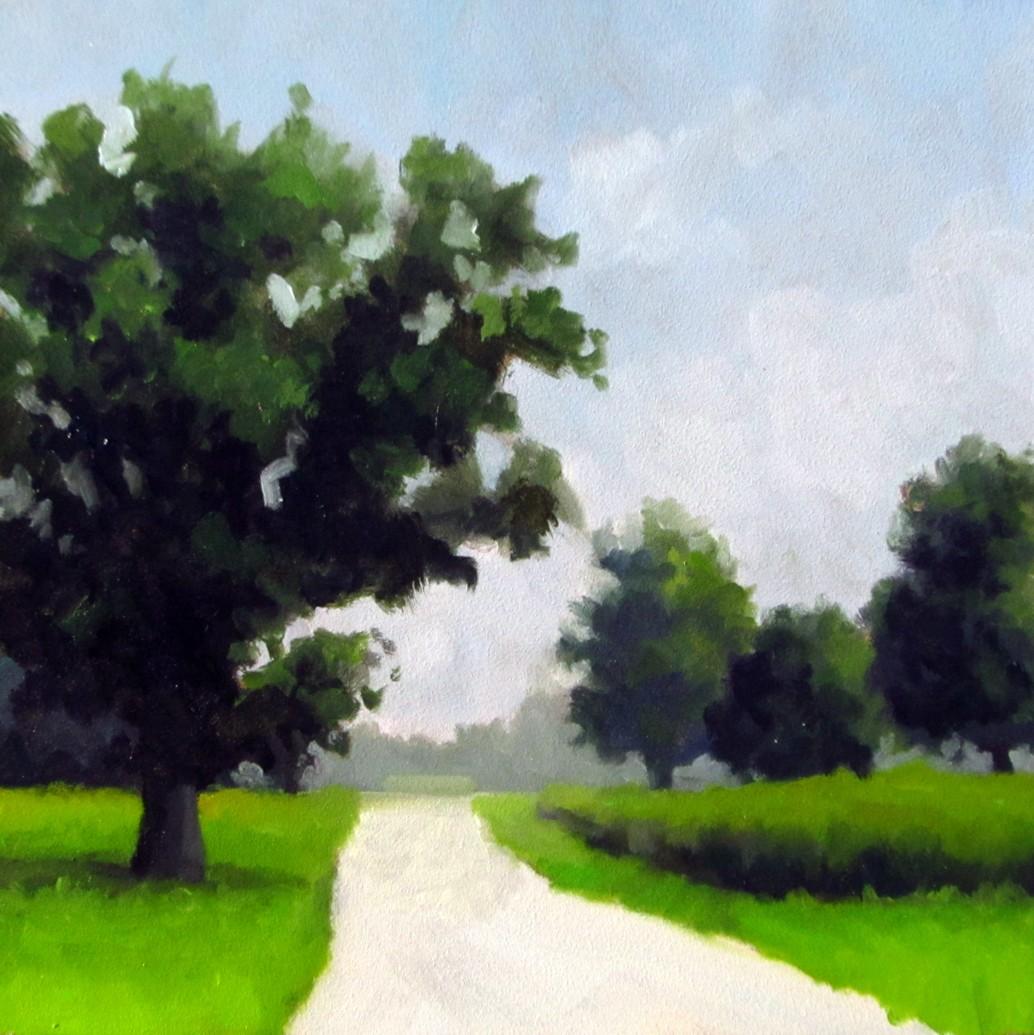 """""""DAILY DIAPER #226 Backroads"""" original fine art by Brian Burt"""