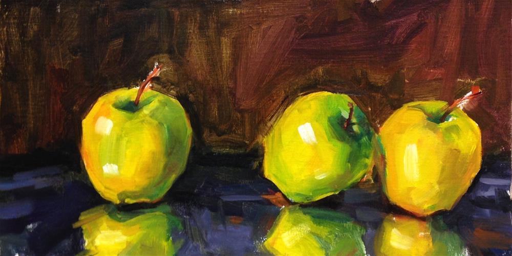 """Them Apples"" original fine art by Laurie Johnson Lepkowska"