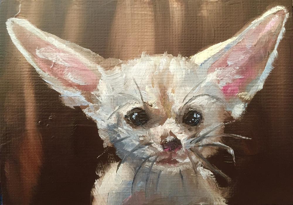 """I'm All Ears"" original fine art by Gary Bruton"