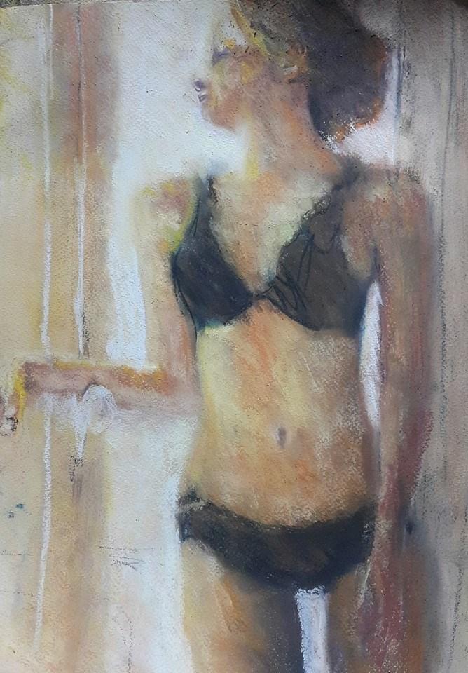 """Morning light"" original fine art by Rentia Coetzee"