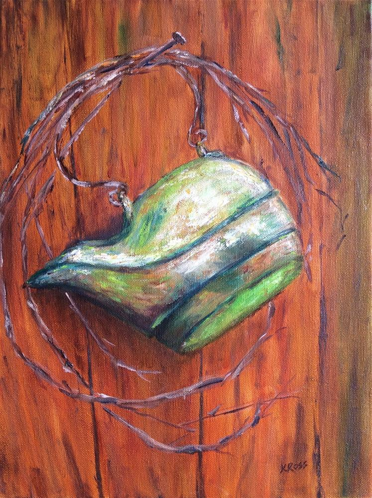 """Copper kettle"" original fine art by Kathryn Ross"