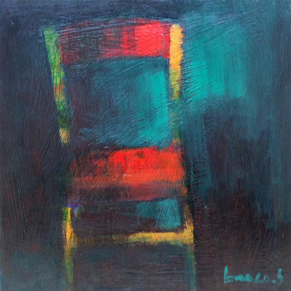 """Chair"" original fine art by salvatore greco"