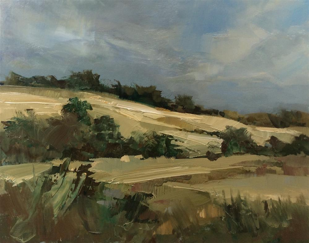 """""""From the road to Old Bolingbroke """" original fine art by Anne Wood"""